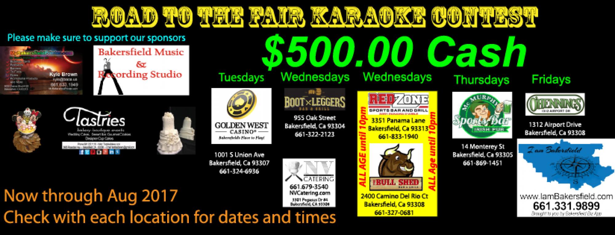 Karaoke In Bakersfield